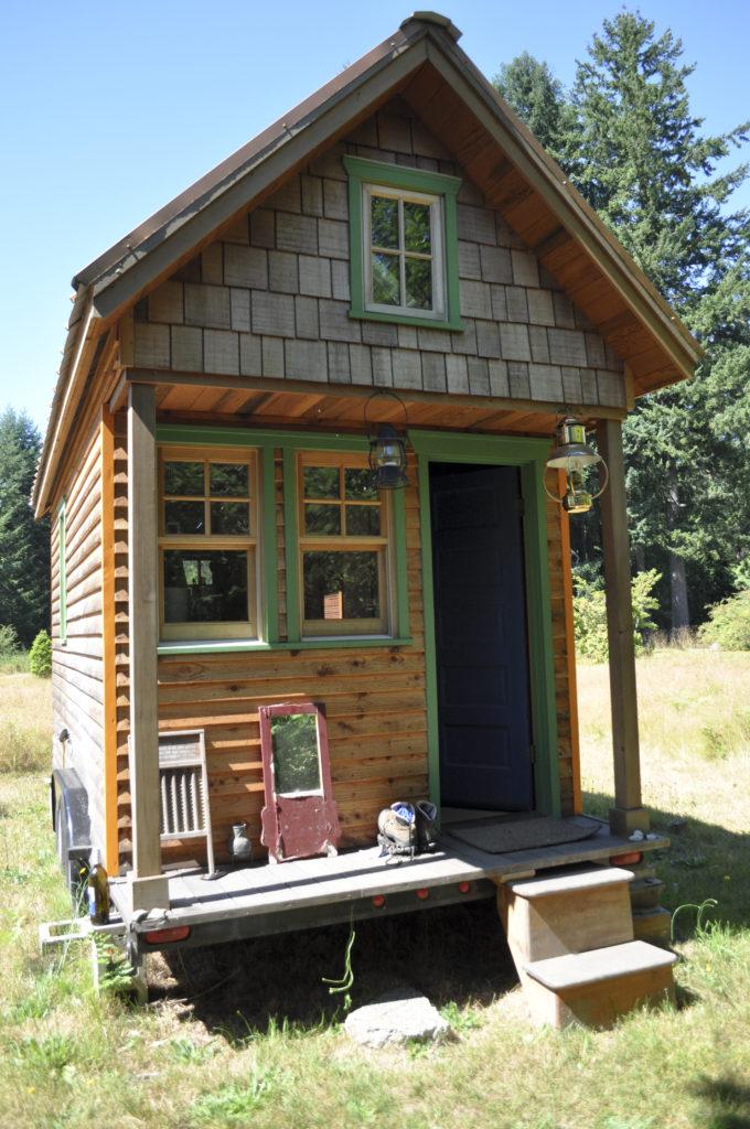 tiny house américaine, écologie, survivalisme