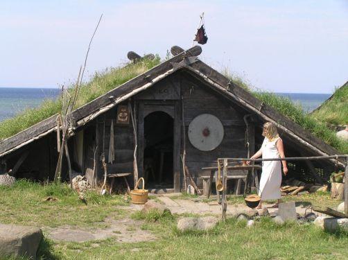 Les maisons pendant la plus grande partie de l'histoire. écologie.